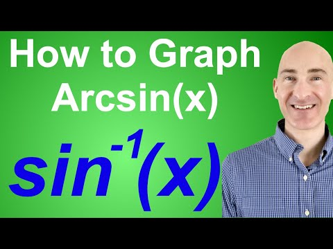 How to Graph Arcsin (sine inverse)