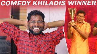 Fun Mimicry Performance by Comedy Khiladi's Winner Jayakumar