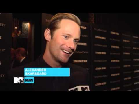 Alexander Skarsgård Says He's Complicated