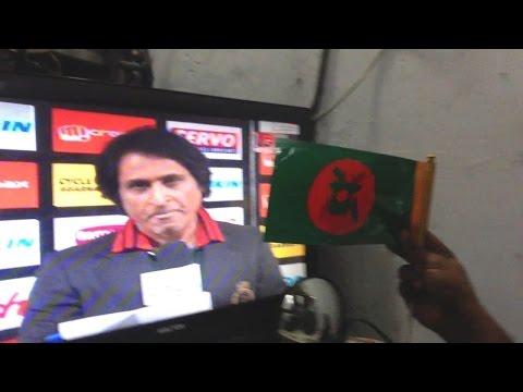 """Bangladesh vs Pakistan 2016 & the face of """" ramiz raja """" !"""