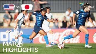 USA v. Japan - FIFA U-20 Women's World Cup France 2018 - Match 5