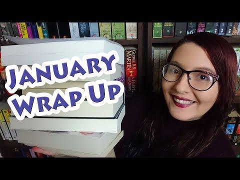 January Wrap Up | Update on Reading Project | 2018