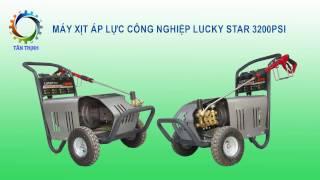 Máy rửa xe Cao áp cho garage rửa ô tô Lucky 3200psi 5,5kw