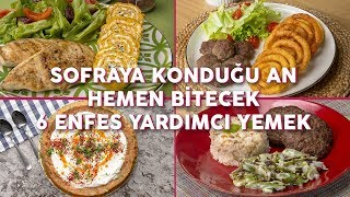 Sofraya Konduğu An Hemen Bitecek 6 Enfes Yardımcı Yemek Tarifi (Seç Beğen!) - Yemek.com