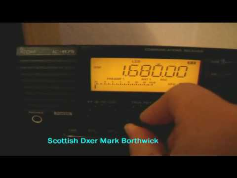 MW DX  WOKB 1680khz Florida Recieved In Scotland On Icom IC-R75 and EWE antenna