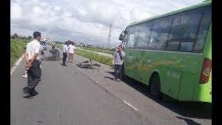 Tai nạn giao thông mới nhất ở Nam Định: Hai thanh niên đi xe máy tông trúng xe khách tử vong tại chỗ