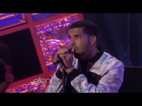 Drake - Hold On, We're Going Home With Majid Jordan (the Ellen Show) video