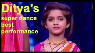Ditya Bhande l  Super Dancer l Best Performance