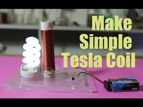 How To Build A Slayer Exciter, Simple Tesla Coil (Urdu)