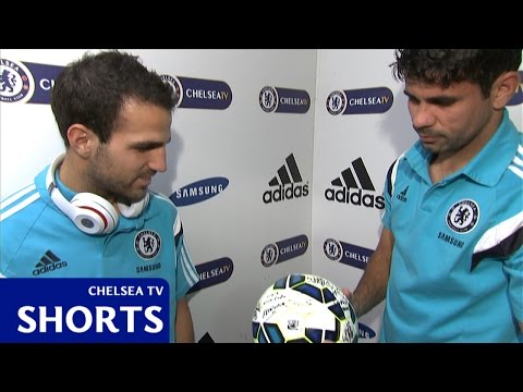 Fabregas and Diego Costa on Swansea City