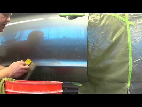 Как убрать подтеки краски с авто