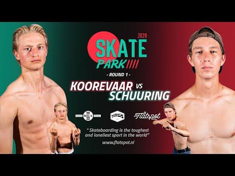 Game of SKATEpark 4 - Game #1 -  Koorevaar vs Schuuring