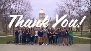 Notre Dame Day 2018 - Thank You Video