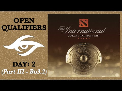 Dota 2 | Road to The International | Open Qualifiers: Day 2 - Part III (Game 2 of bo3)
