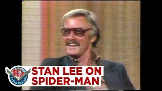Stan Lee explains why Spider-Man is just a regular guy, 1977