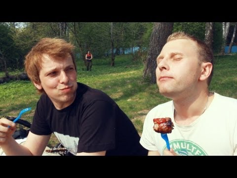 "BBQ On The Shore of Senezh Lake. ""Real Russia"" ep.49"