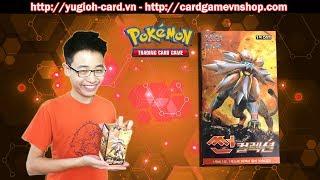 Mở Hộp Pokemon Sun tại yugioh-card.vn