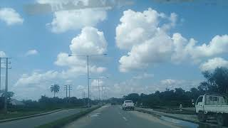 Driving in Calabar, Cross River State. Nigeria
