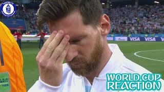 Messi On The Verge Of World Cup Exit | World Cup 2018 Reaction