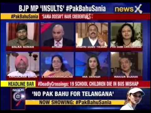Nation at 9: 'No Pakistan bahu for Telangana'