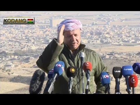 Masoud Barzani Press Conference On Sinjar liberation in Sinjar 13/11/2015