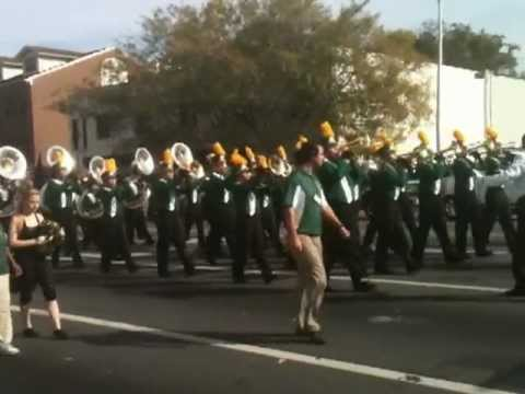Lincoln High School Trojan Band @ Tallahassee Veteran's Day Parade (11/12/12)