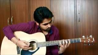 Dooba Dooba Rehta Hoon With Guitar Chords   Silk Route   Guitar Cover (Unplugged)