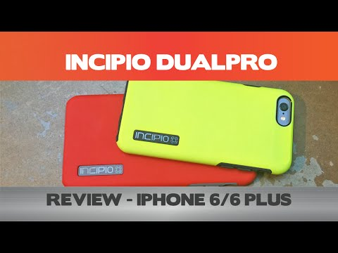 watch Incipio Dualpro  Iphone 6 6 Plus Cases video