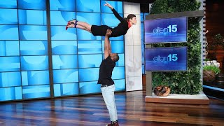 Download Lagu Jessica Biel's Amazing 'Dirty Dancing' Entrance Is Ellen's Best One Yet Gratis STAFABAND