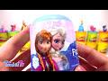 Karlar Ülkesi Elsa Dev Sürpriz Yumurta Oyun Hamuru - Frozen Oyuncakları