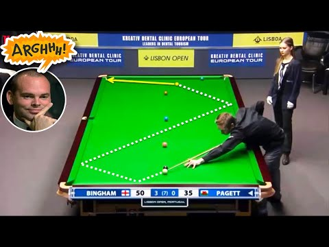 Crazy Snooker Shots - HotSnooker