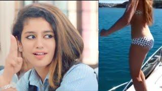Priya Prakash look like Funny Face 3- Famous From Whatsapp Status Video || Unlimited Lip Kiss Shoot
