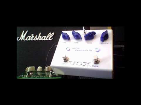 Ice 9 Overdrive Pedal Demo 1