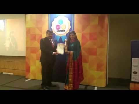 Asia Women Achiever Award in Pan Pacific Hotel , Singapore