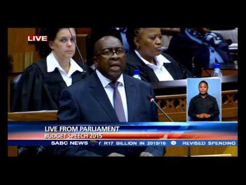 Minister Nene's full budget speech 2015