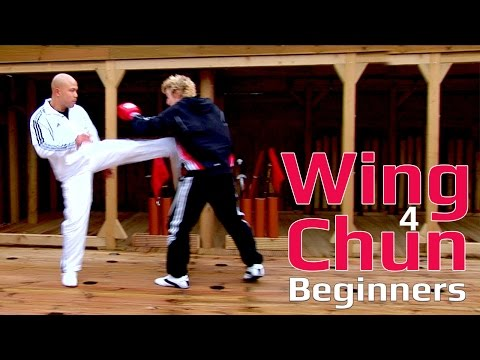 Wing Chun Lesson 54: Basic spar work side kick Image 1
