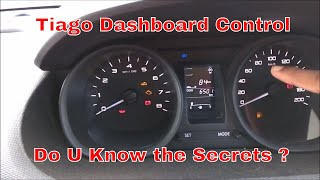 Tata Tiago Dashboard Controls For New Driver Part-1