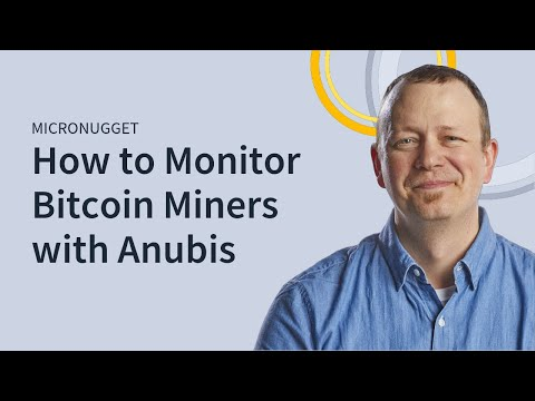 MicroNugget: Monitoring Bitcoin Miners With Anubis