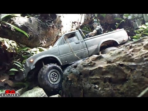 RC Trucks Mudding! Offroad RC Adventures at Upper Peirce Reservoir Trail Finder 2 SCX10 Defender