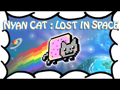 Nyan Cat: Lost in Space [PC Steam Version] - 60fps Gameplay & Review - A Sheepish Look At