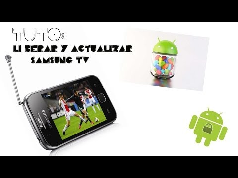 Samsung Galaxy Y TV (GT-S5367)Root,liberacion y actualizacion 4.2.2