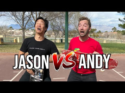 DIZZIEST GAME OF SKATE - JASON VS ANDY SCHROCK