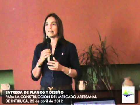 ENTREGA DE PLANOS PARA LA CONSTRUCCIÓN DEL MERCADO ARTESANAL EN INTIBUCÁ