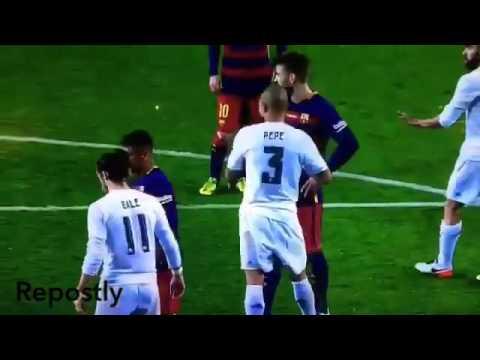Gerard pique goal VS real Madrid