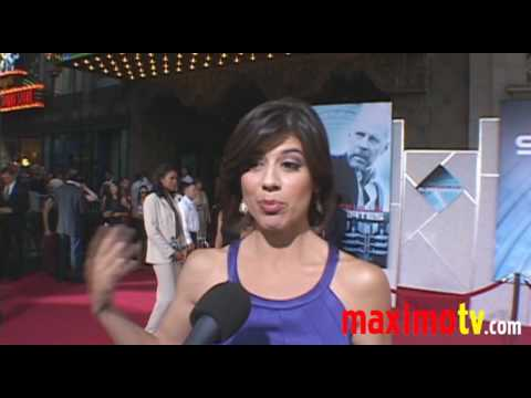 Lisa Hernandez Interview at 'Surrogates' Premiere September 24, 2009