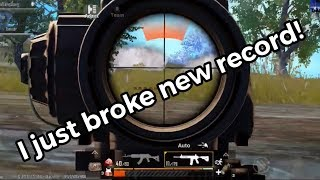 New record on highest damage in season 5 | PUBG Mobile