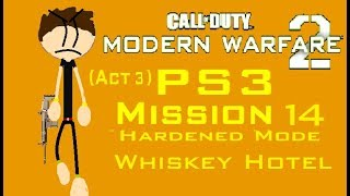 Call Of Duty MW2 (PS3) Mission 14 - Whiskey Hotel (Hardened Mode) (Act 3)