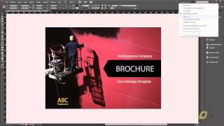 VideoCorso inDesign CC Lezione 01 - Interfaccia e Menu a Comparsa, Apri File Pre-impostato