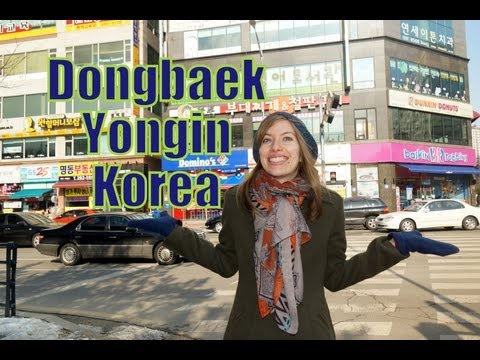 Exploring Dongbaek neighborhood located in Yongin, Gyeonggi-do, South Korea ( - )
