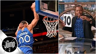 Paul Pierce, Tracy McGrady play 'Score This Dunk' with Aaron Gordon & more | The Jump